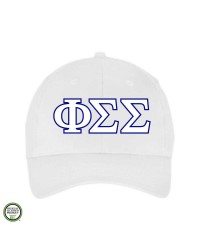 Phi Sigma Sigma Embroidered Cap